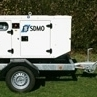 11.5kVa Super Silent Event Generator Road Tow for Hire