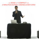 Bose L1 Compact Musikanlage DJ/PARTY/EVENT Tonanlage Gartenparty MP3 / AUX / LAPTOP IN / MIKROFON IN