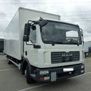LKW MAN IVECO MB Koffer 12t ,7m lang, Ladebordwand incl. 8000 km EURO4