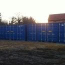20 Fu� Open Side Materialcontainer Lagercontainer Seecontainer