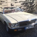 Mercedes Benz 450 SL Cabrio mit Soft- u. Hard-Top