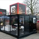 Promocube� - mobiles Promotion-, Event-, Roadshow- System, flexibel, mobiler Messestand