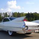 Cadillac 1959 weiss