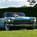 Cadillac Coupe 1959 baby blue