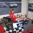 Kart Simulator - Top Motorsound, Lautst�rke regelbar. Realistisches Fahrverhalten. Super Optik.