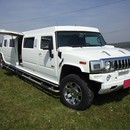 VIP Hummer 2 - Stretchlimousine in wei� mit Jet-T�re