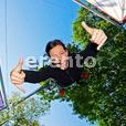 4er Bungee-Trampolin HIGH JUMP