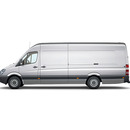 Mercedes Sprinter Kastenwagen extralang, 4,20 Meter Ladefl�che - ab 60 Euro / Tag ; 120 Euro / Wochenende