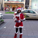 Walk-Act Christmas-Girl / Spezial-Promotion / Kost�m / Promoter